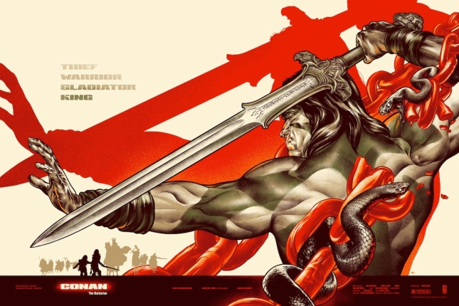 "「コナン・ザ・グレート(レギュラー)」CONAN  Regular by Martin Ansin Size: 24"" x 36"" Edition: 450 US$50"
