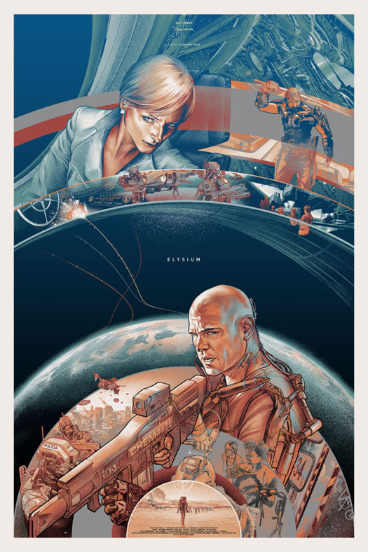 「エリシウム」バリアント Elysium Variant by Martin Ansin Edition of --- US$--