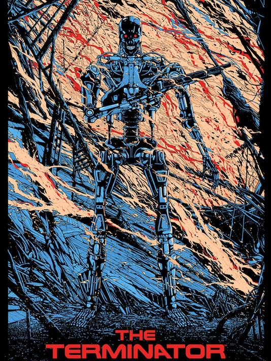 「プレデター」レギュラー Predator Reguler by  Ash Thorp 24″ x 36″ Edition of ---