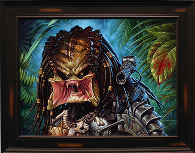 "「ハンター(原画)」Hunter by Jason Edmiston Acrylic on Wood Panel 24"" x 18"" US$4500"