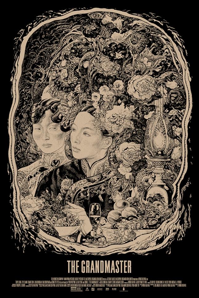 「グランド・マスター」レギュラー Grand Master (Regular) Poster by Vania Zouravliov. 24″x36″ screen print. Hand numbered. Edition of ---. Printed by D&L Screenprinting.