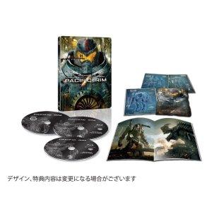 【Amazon.co.jp限定】パシフィック・リム ブルーレイ スチールブック仕様(完全数量限定) [Blu-ray]