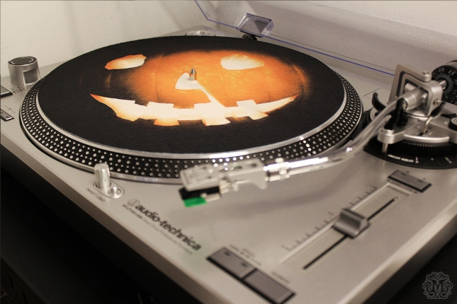 """Jack-O-Lantern""  Slip Mat by Phantom City Creative $10"