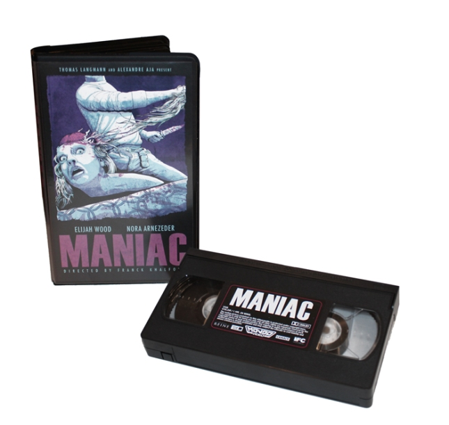 Newest MONDO VIDEO Release  「マニアック」MANIAC Limited edition in a clamshell case with randomly inserted Purple cassette.  US$25