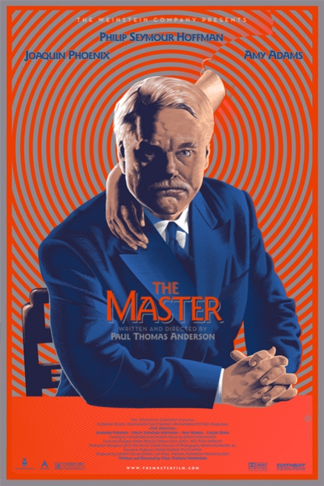 「ザ・マスター」The Master Poster By Laurent Durieux