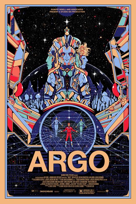 「アルゴ」Argo Poster By Kilian Eng