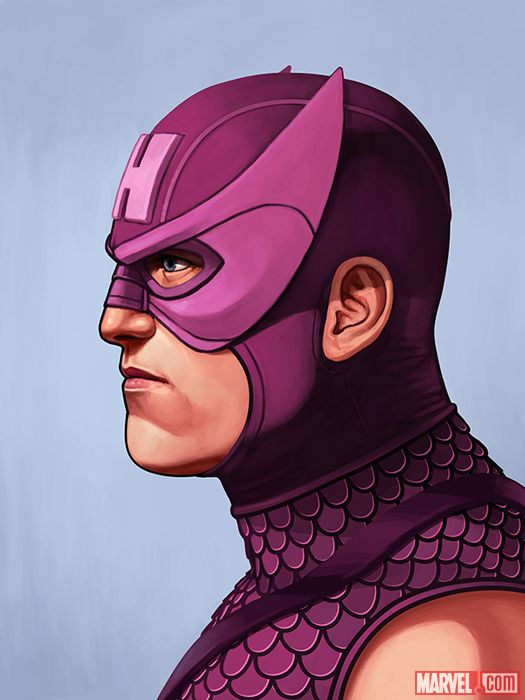 HAWKEYE BY MIKE MITCHELL