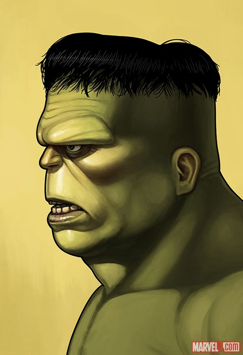 HULK BY MIKE MITCHELL