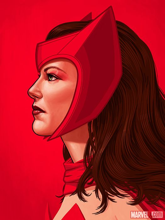 SCARLET WITCH BY MIKE MITCHELL