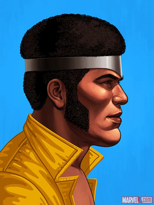 LUKE CAGE  BY MIKE MITCHELL