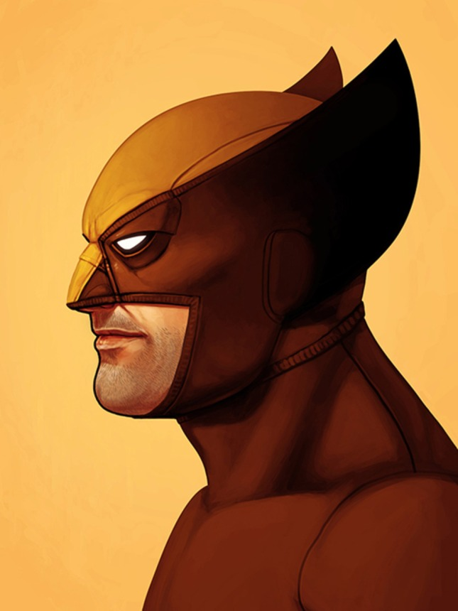 WOLVERINE BY MIKE MITCHELL