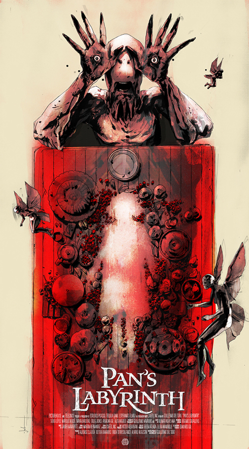 「パンズ・ラビリンス」レギュラー PAN'S LABYRINTH (Regular) Poster by Jock 20″ x 36″ Edition of 325