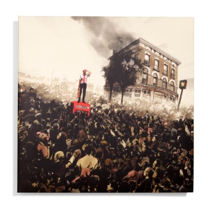 Shaun Of The Dead – Version A Original Score Composed by Daniel Mudford & Pete Woodhead Pressed on 180 Gram Black Vinyl, and randomly inserted Winchester Ale Colored Vinyl Featuring Liner Notes by Edgar Wright, and Composers Daniel Mudford & Pete Woodhead Artwork by Jock US$25