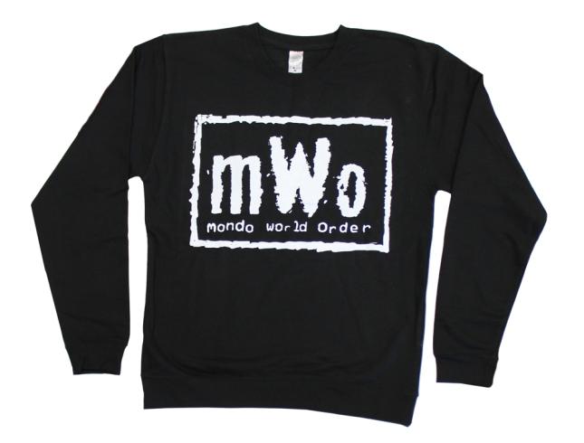 「mWo(mondo world order)トレーナー」 mWo Sweatshirt US
